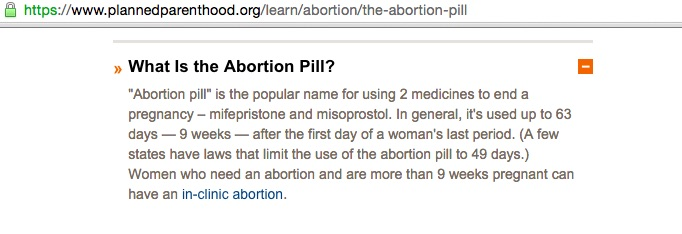 PP abortion pill, mifepristone, medication abortion, RU486, dangerous for women, Planned Parenthood