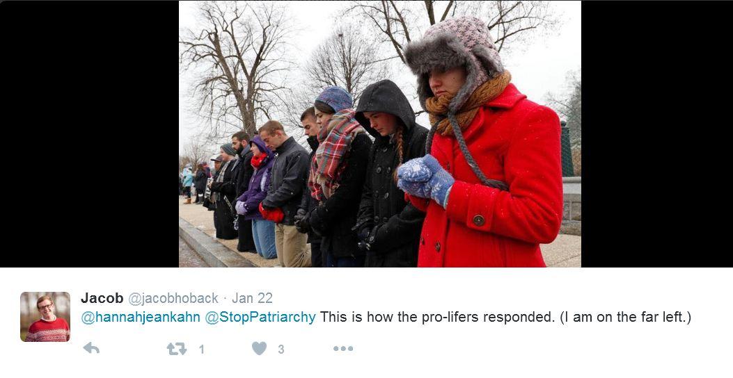 Pro-lifers respond to Stop Patriarchy