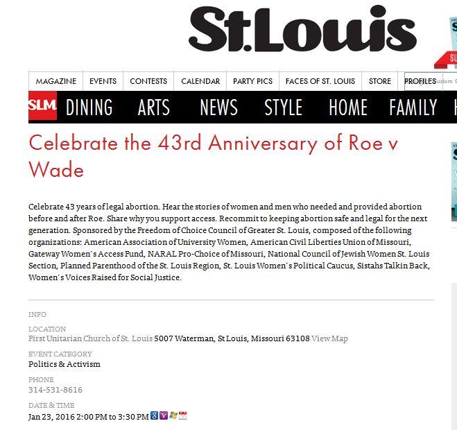 Roe Celebrate