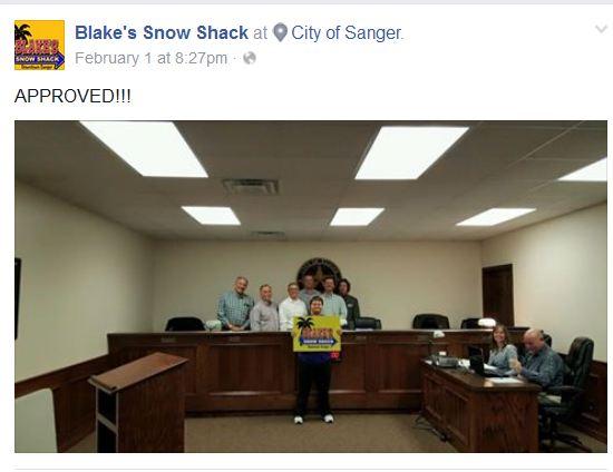 Blake Approved Sanger Downs