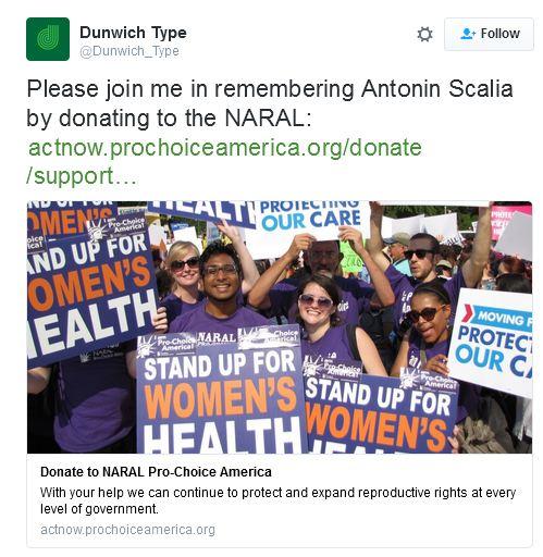 Scalia abortion groups twwt