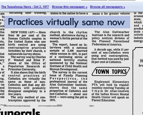 1977 Guttmacher research arm of Planned Parenthood 2