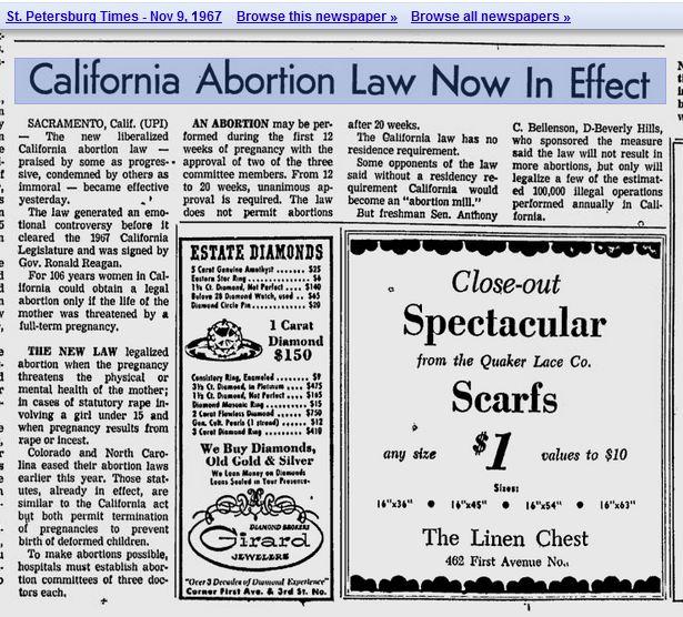 abortion reflection