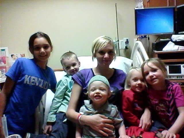 Mindy and kids
