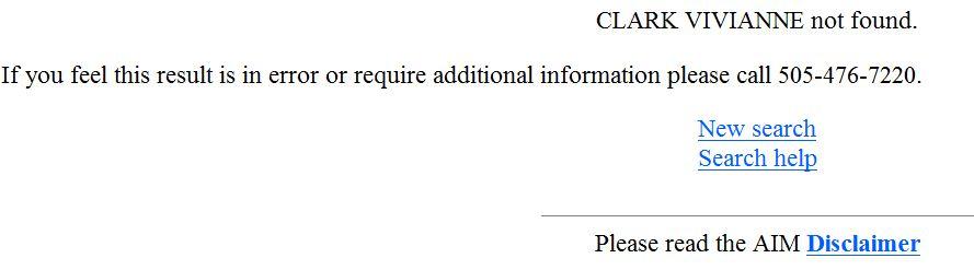 Vivianne Clark NM Medical Board license verification