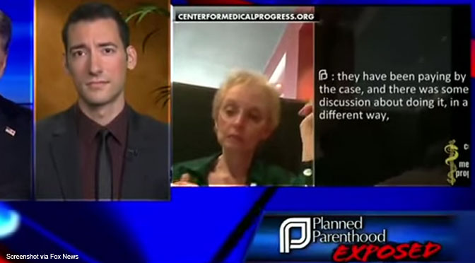 undercover abortion video, Planned Parenthood