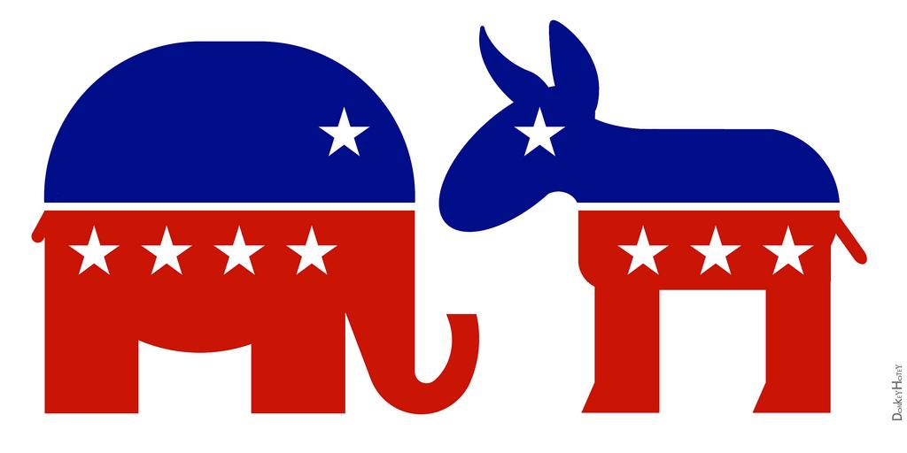 Republican GOP and Democrat