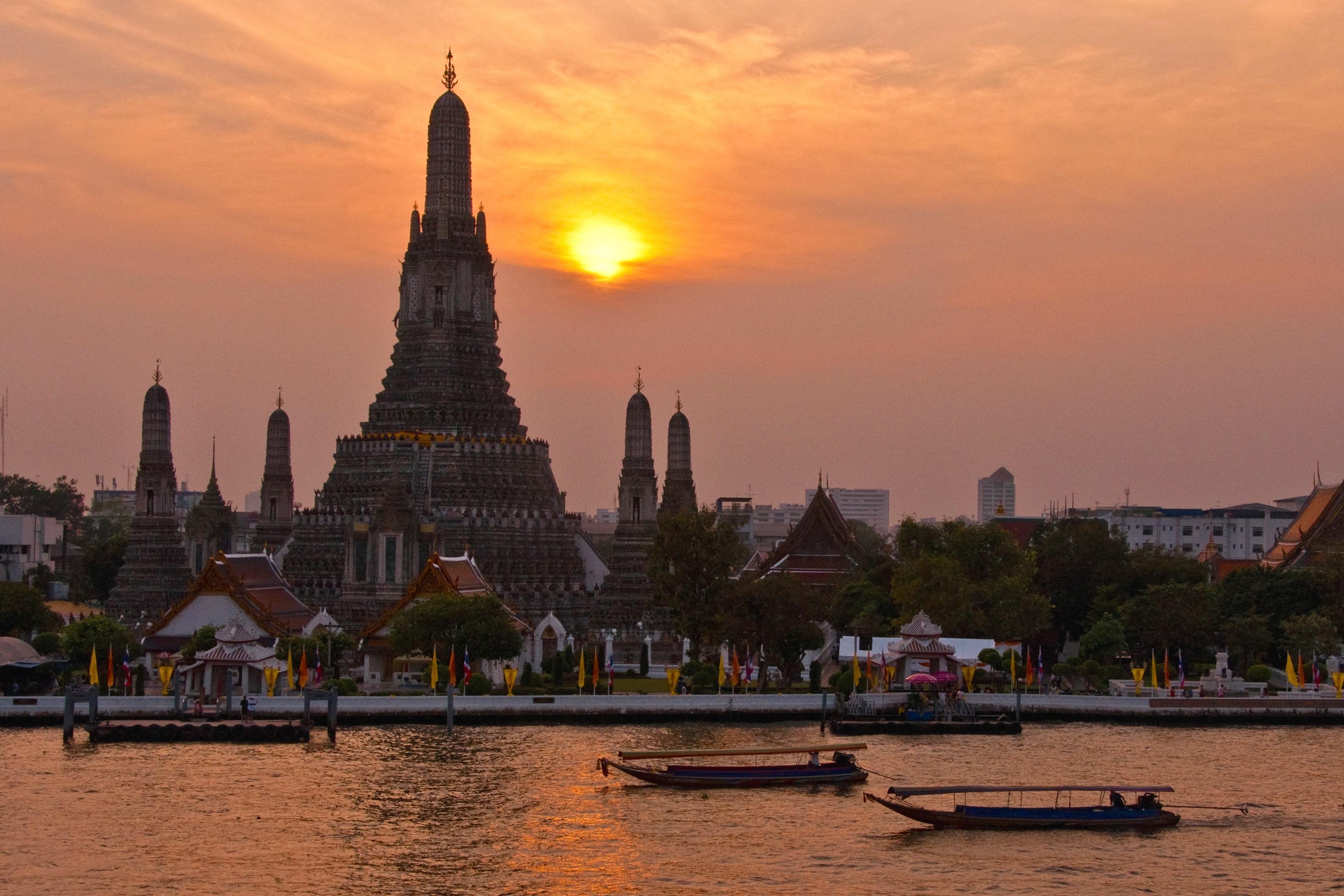 Wat Arun Sunset