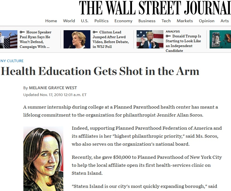 jennifer-allan-soros-wall-street-journal-planned-parenthood