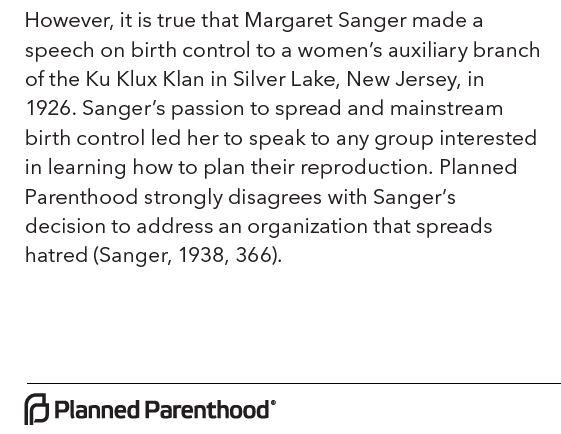 planned-parenthood-admits-margaret-sanger-gave-a-klan-speech