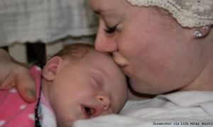 Summer and her boyfriend found abortion reversal and saved their daughter, Finley.