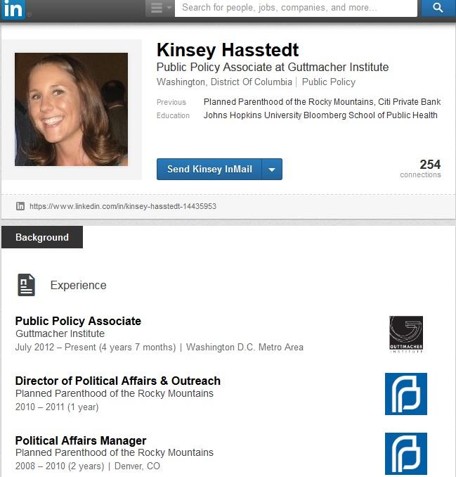 Kinsey Hasstedt Guttmacher Planned Parenthood