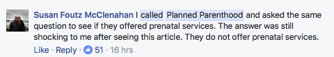 called planned parenthood