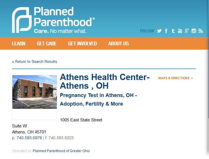 Athens Oh PP PURGED Prenatal
