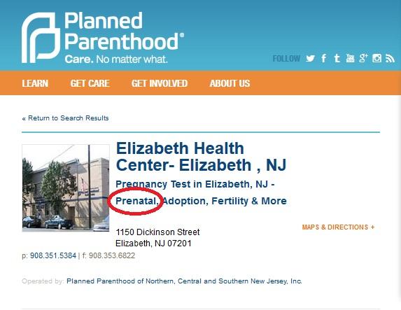Elizabeth NJ PP Prenatal