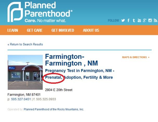 Farmington NM PP Prenatal