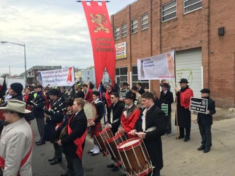 Defund PP protest, D.C.