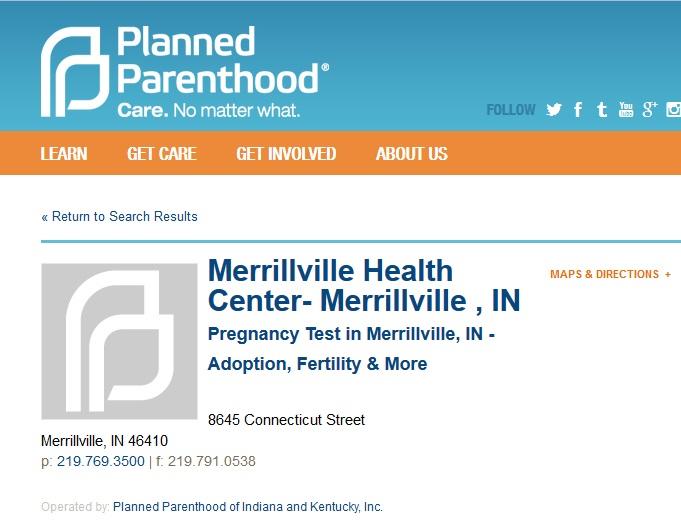Merrillville IN PP PURGED Prenatal