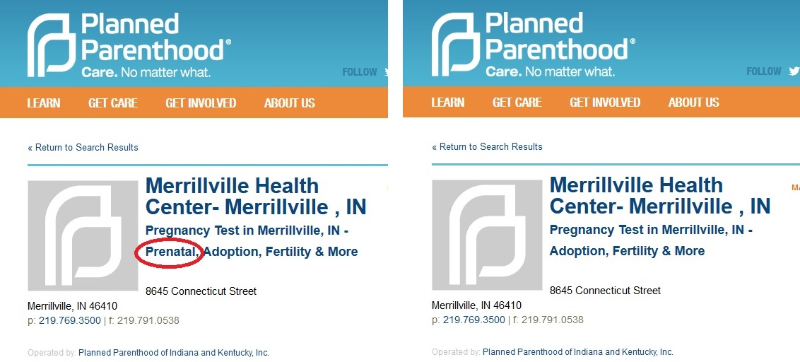 Merrillville IN PP Prenatal and Prenatal