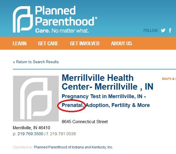 Merrillville IN PP Prenatal