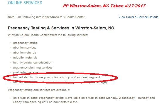 Winston Salem NC Options