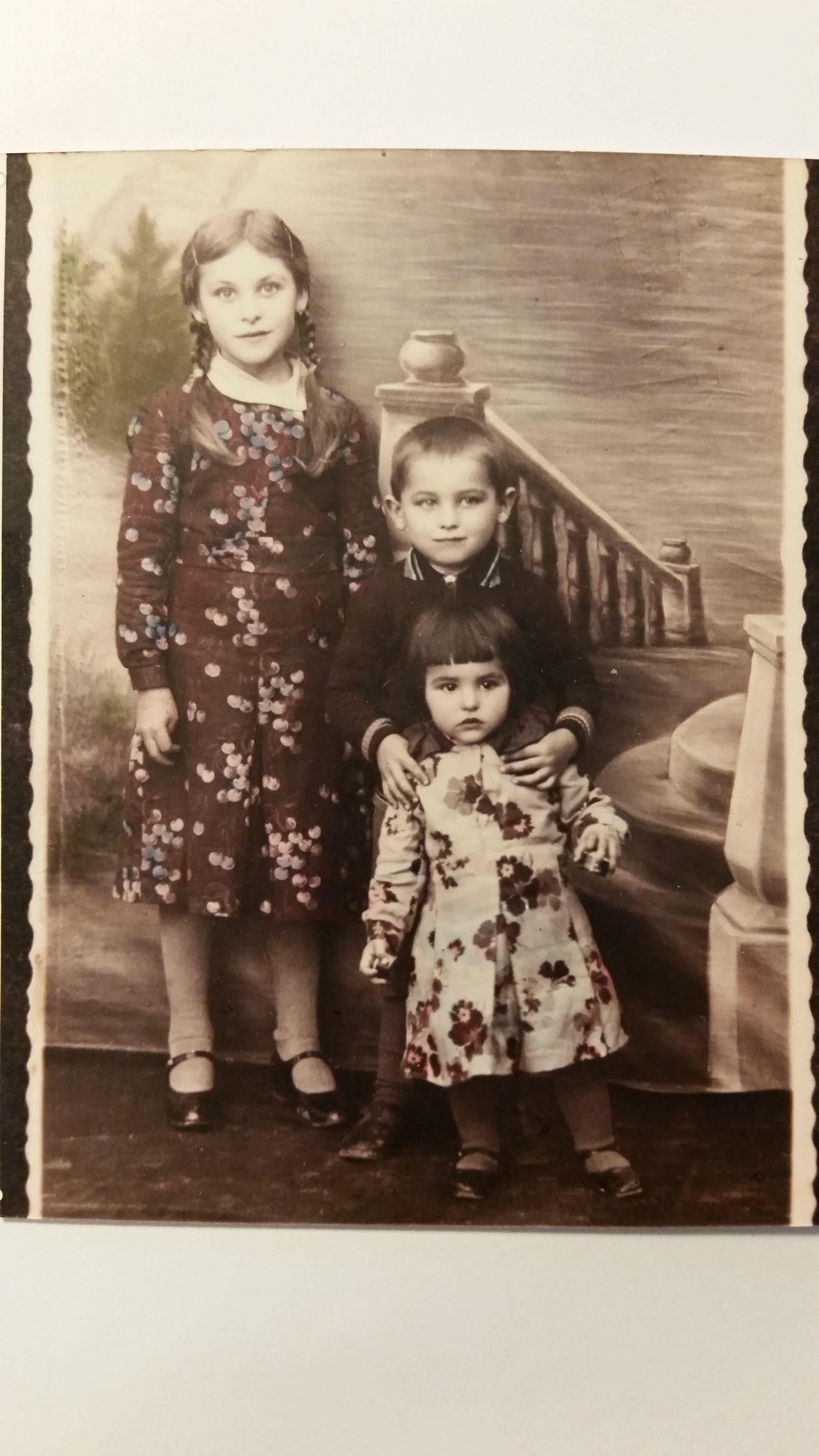 Eva Edl and her siblings20170517_185603