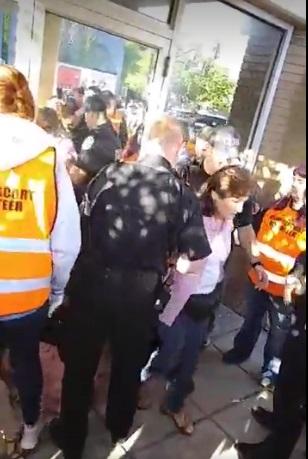 Eva Edl arrest prolife Rescue 2