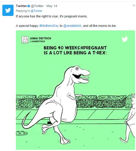 Offensive tweet by Twitter