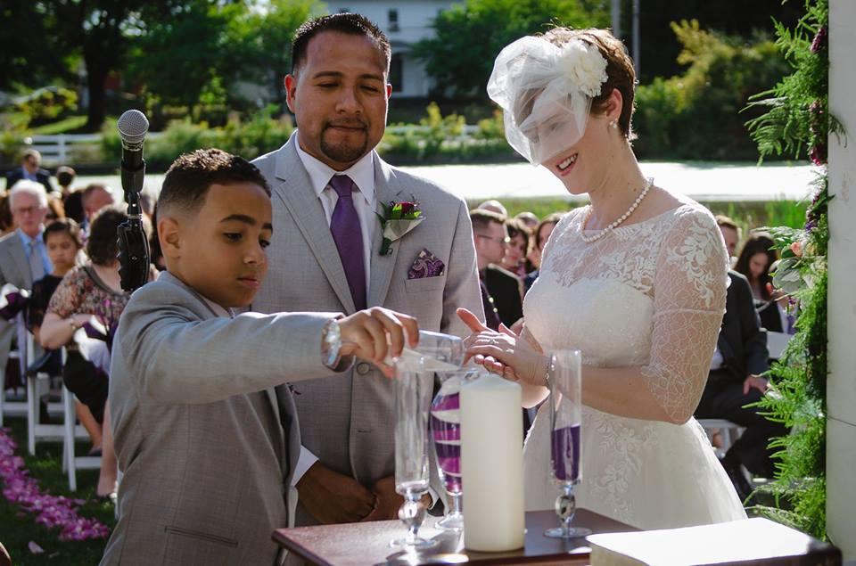 Carolyn F. Olivares wedding