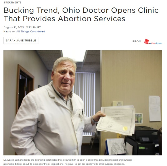 David Burkon 2015 NPR report