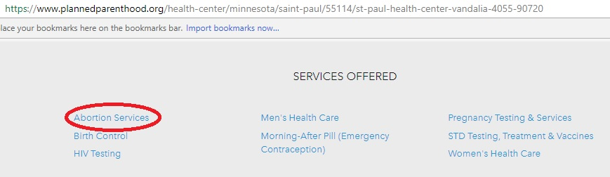 PP Minnesota Title X abortions
