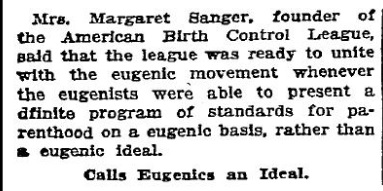 NYT 040125 Sanger merge w eugenics