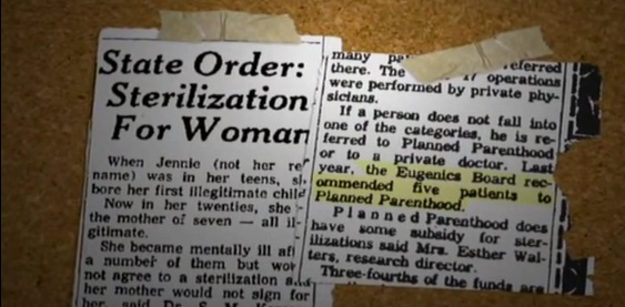 Planned Parenthood Eugenics Board Robert Webber