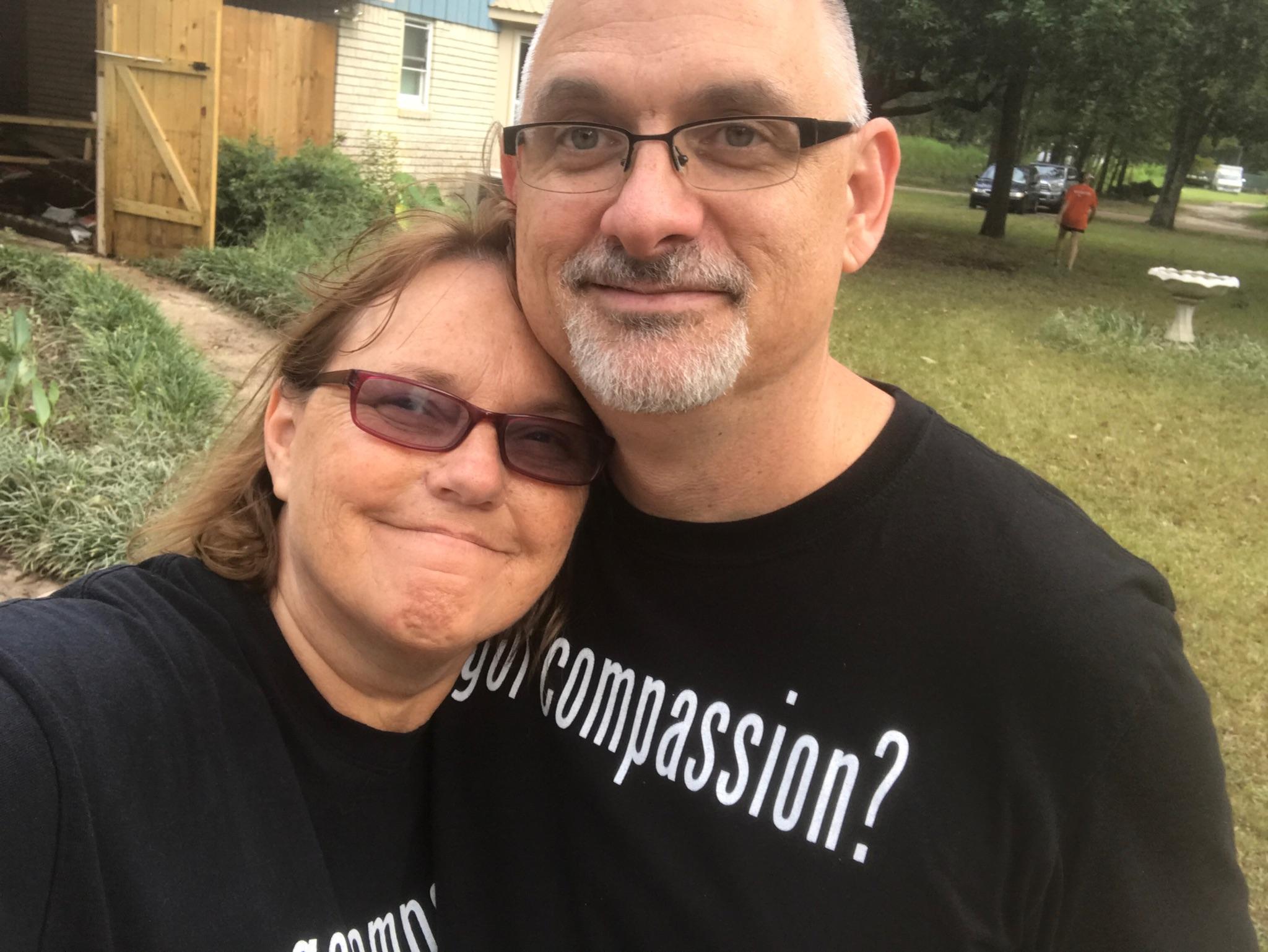 Eva Joy and Luke Redus operate Joy House
