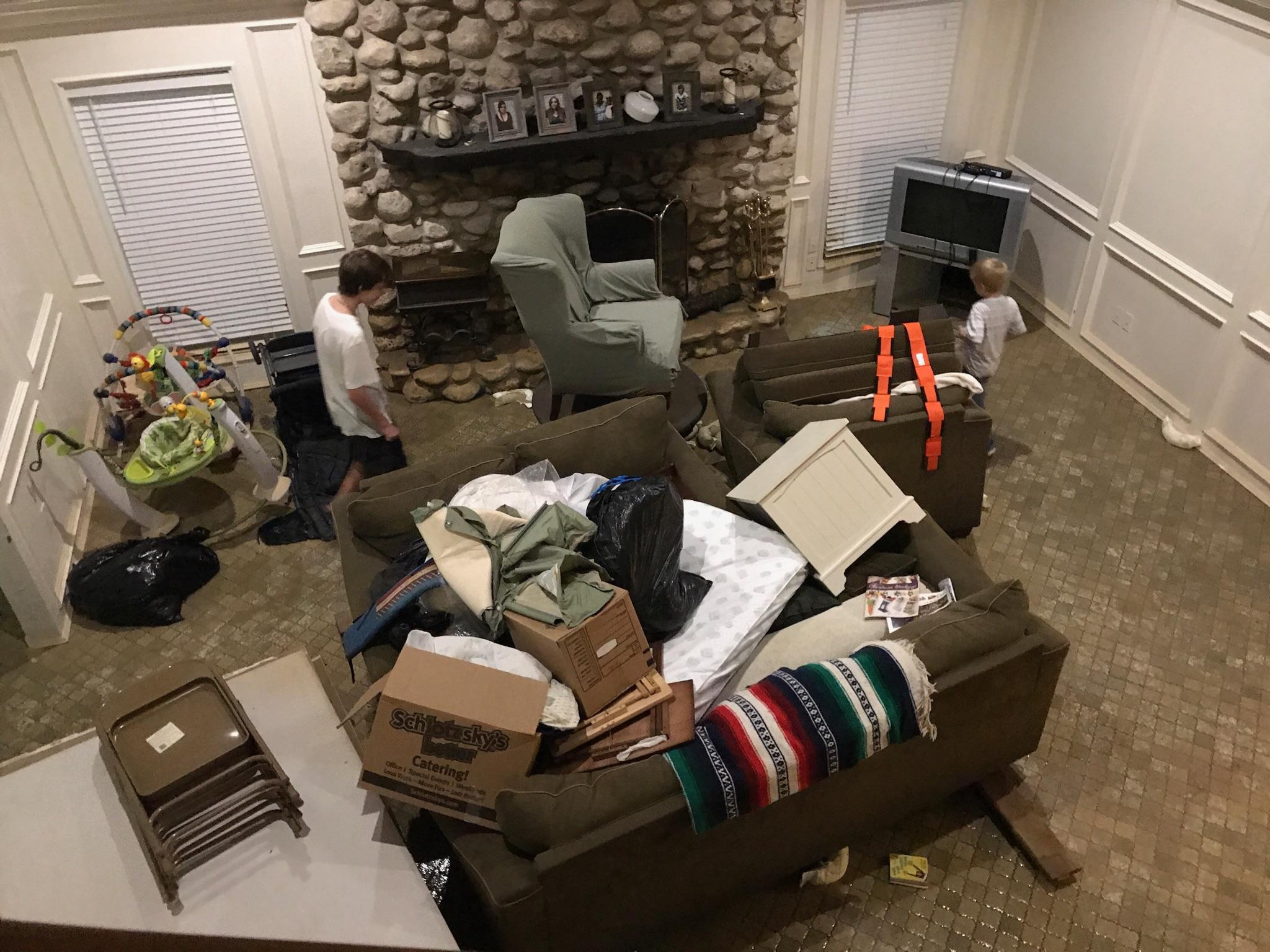 Joy House Harvey Flood Damage 2