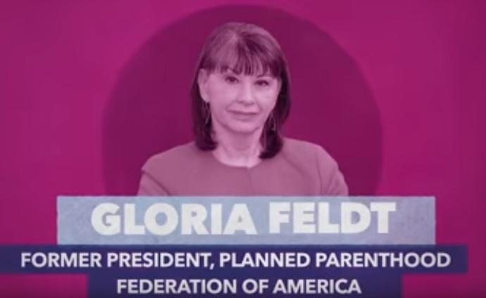 Former PPFA president Gloria Feldt