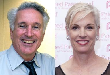 Kirk Adams and Cecile RIchards via Jill STanek Blog