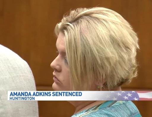Amanda Adkins sentenced