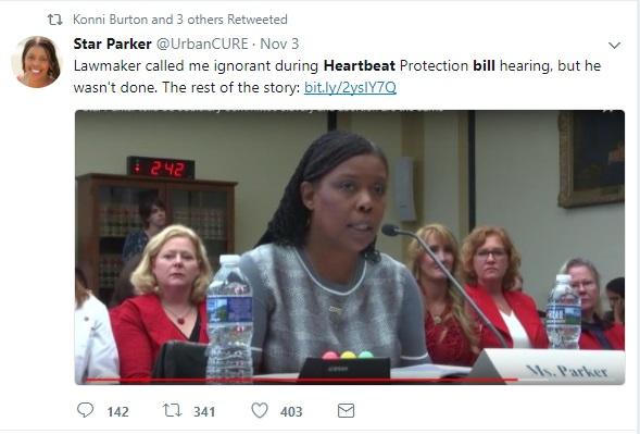 Black women Star Parker called ignorant by Democrat