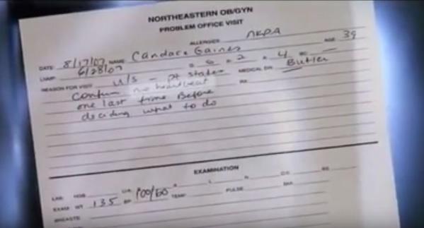 Gaines medical report