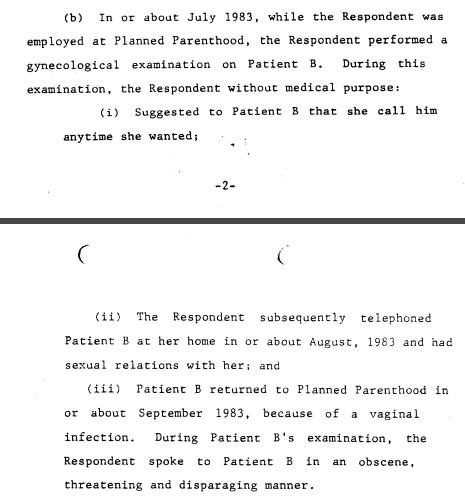 Jose L Lizardi sexual misconduct NY Planned Parenthood 2