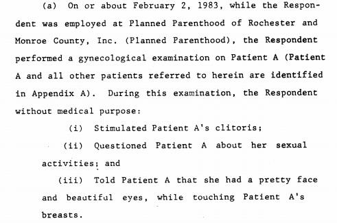 Jose L Lizardi sexual misconduct NY Planned Parenthood