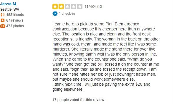 PP Seattle WA Review Nov 2013