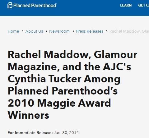 Cynthia Tucker Rachel Maddow Planned Parenthood