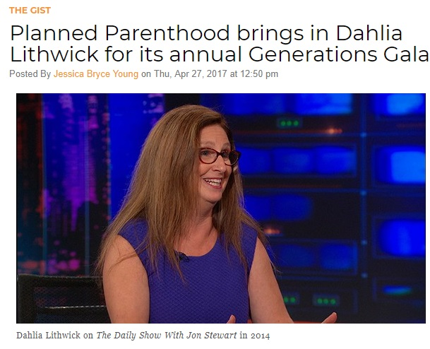 Dahlia Lithwick Planned Parenthood