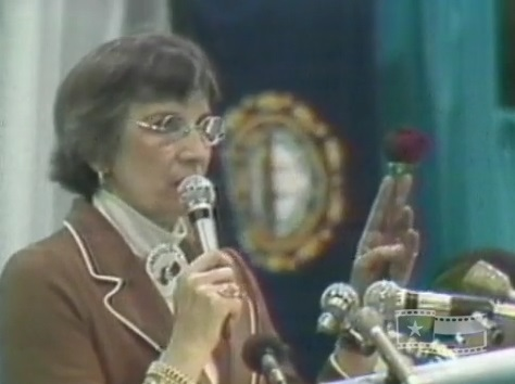 Prolife Nellie Grey at 1977 womens conference 1