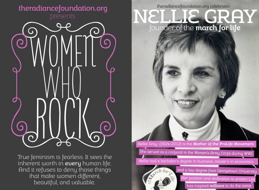 Nellie Grey prolife feminist
