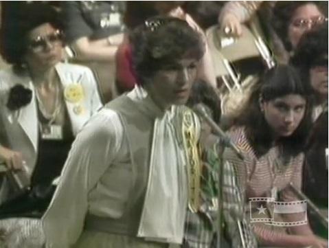 Prolife delegate Ann O'Donnell