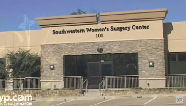 Southwestern Women's Options late-term abortion facility Dallas.