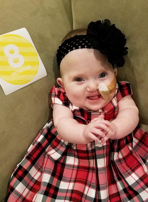 Eliana, whose parents refused abortions, celebrates turning 8 months old